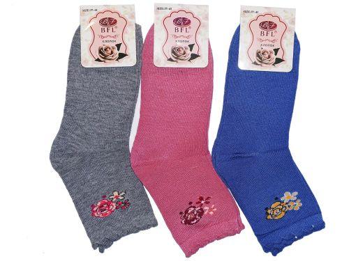 """Носки детские """"BFL"""" для девочек 37-41 №B402"""